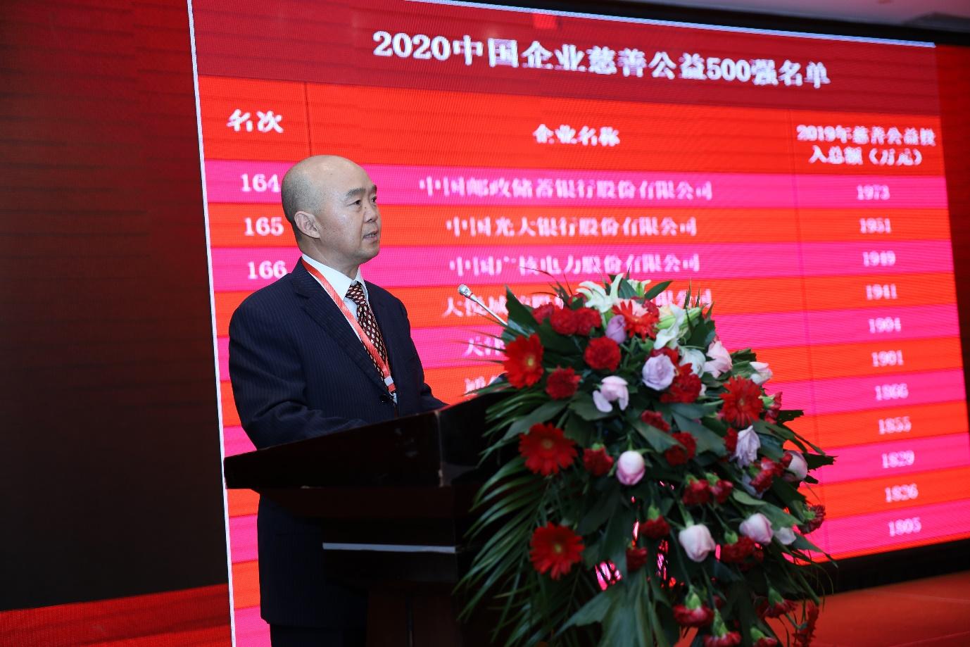 福佳集团荣获2020中国企业慈善公益500强