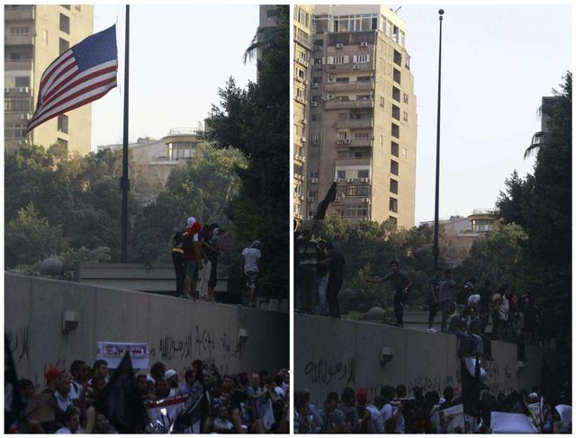喀秋莎发威了!美国大使馆食堂被炸 大过年的没地方吃饭了