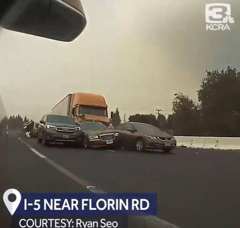 机动车在高速公路发生事故