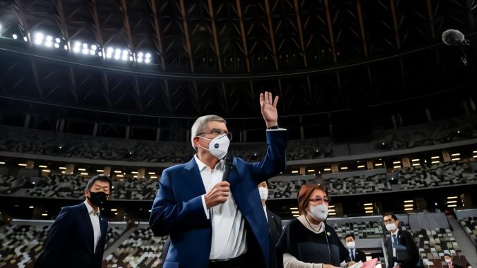 国际奥委会主席巴赫:鼓励但不强行要求运动员注射新冠疫苗