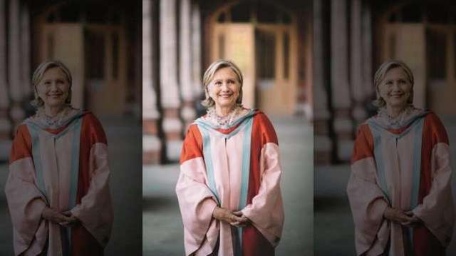 希拉里被任命為北愛爾蘭女王大學校長,引發網友廣泛猜測