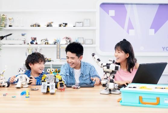 优必选科技携人工智能及机器人教育成果亮相服贸会