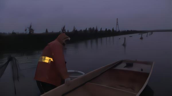 新鲜小龙虾如何上岸?凌晨捕捞田边收购