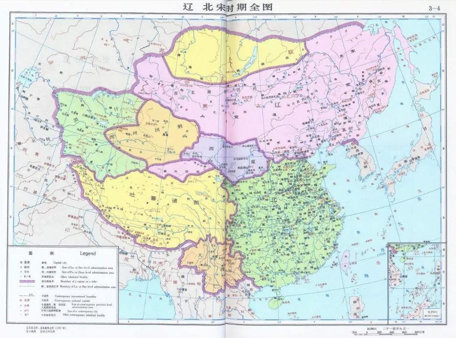 上图_ 辽、北宋时期