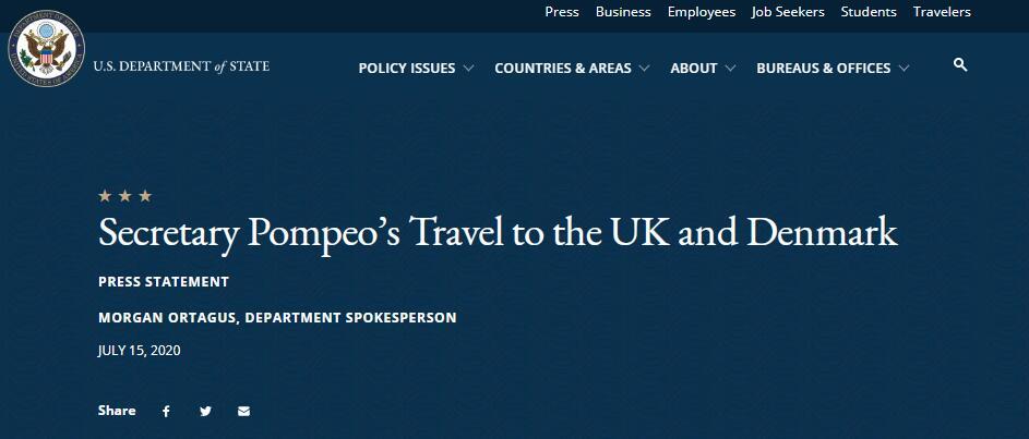 【黑鹰安全网】_蓬佩奥转身访问英国、丹麦,首要目的:中国