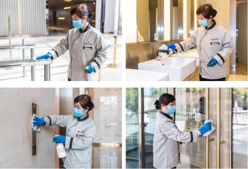 瑞安房地产旗下写字楼服务力升级 迎接防疫局势下全面复工潮