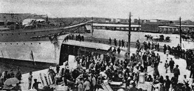 19世纪末20世纪初,来到阿根廷的欧洲移民。