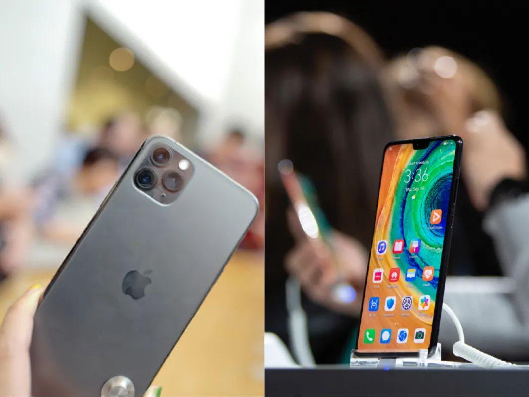 华为吃掉中国手机半壁江山,苹果放出廉价版i