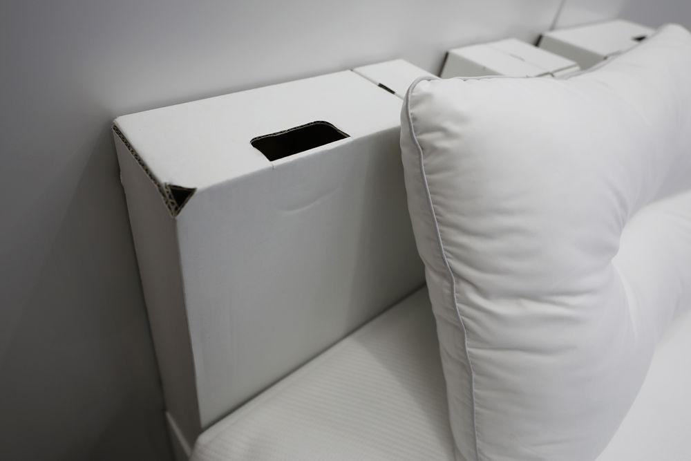 运动员东京奥运睡纸板床:体重400斤都不怕,比木头还结实