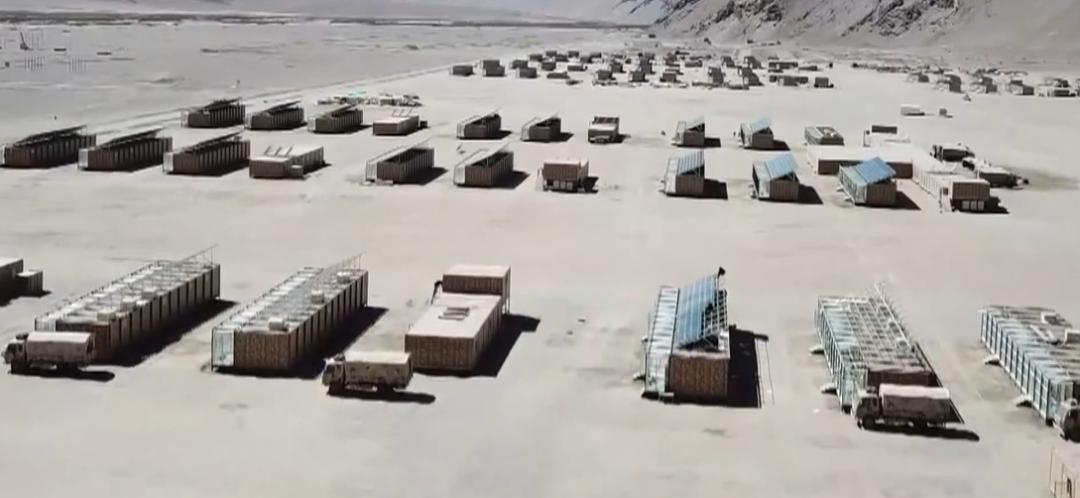 亮相!我军新型可拆装式自供能保温营房 装备海拔5000米以上高原部队