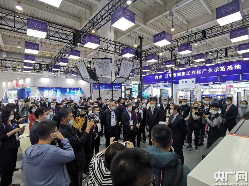 第二十二届大连国际工业博览会启幕  展示国内顶尖人工智能成果
