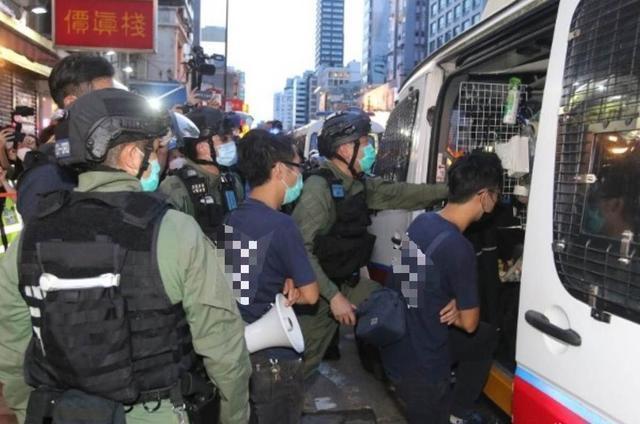 【天津快猫网址旺道】_港警刚刚通报,四名区议员涉组织非法集结被捕