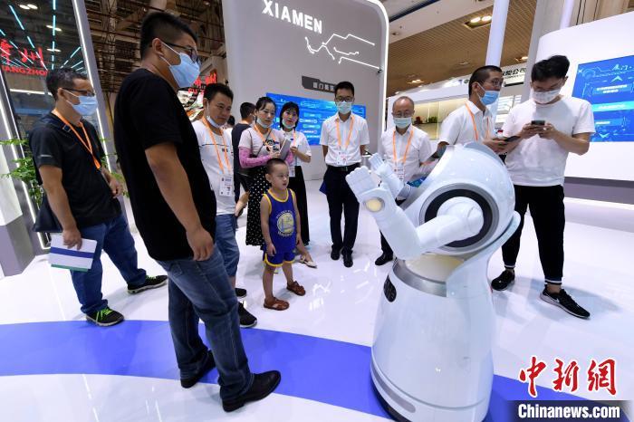 2020厦洽会:人工智能吸引眼球