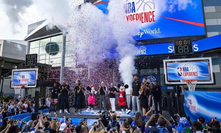 NBA复赛后将会进行全天候比赛,每个场馆每天2-3场