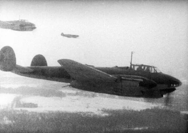 上图_ 莫斯科保卫战的空战