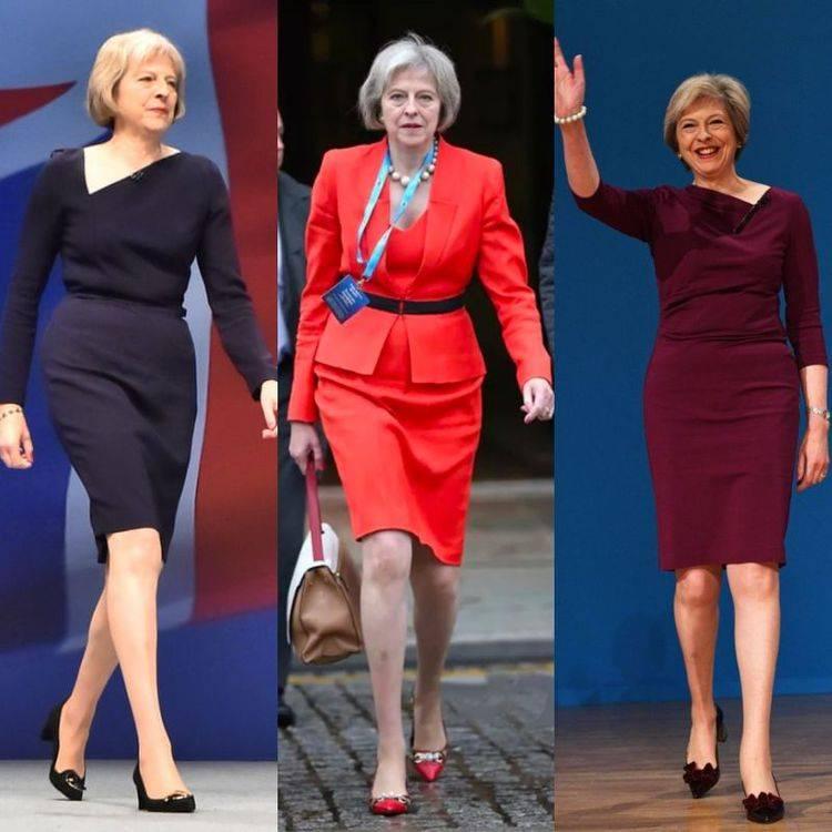 梅姨穿着一直都比较时尚大胆 图片:网络