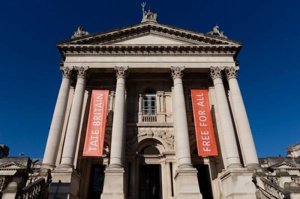 英国泰特美术馆,每年特纳奖入围作品均在该馆展览。图源:泰特美术馆。