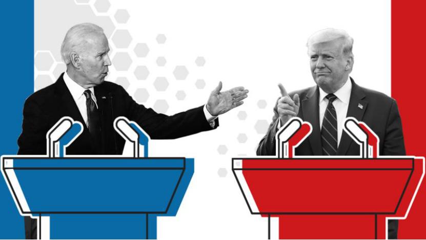 """【空气套和避孕套的区别】_美国大选辩论赛最终战:开启静音模式后的特朗普要如何""""败""""登"""