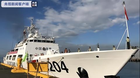 中国海警船首访菲律宾,释放重要信号