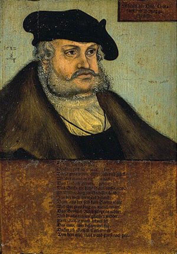 克拉纳赫,《弗雷德里克三世》,1532年