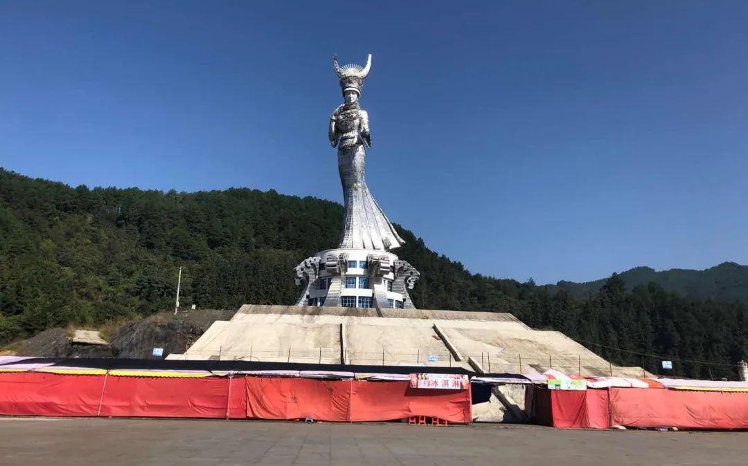"""【行云币】_贵州建88米苗族女神雕塑:当地官员称""""不能因为质疑就不做了"""""""