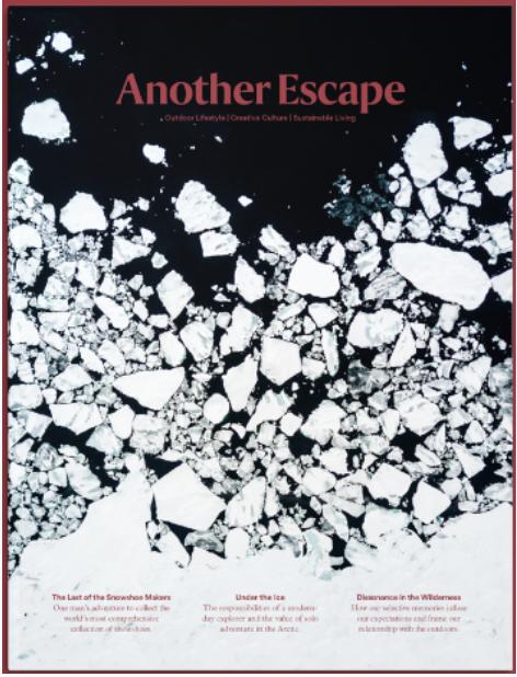 《物外03:赶在冰雪消失前》;英国Another Escape编辑部 ;2019-11;中信出版社