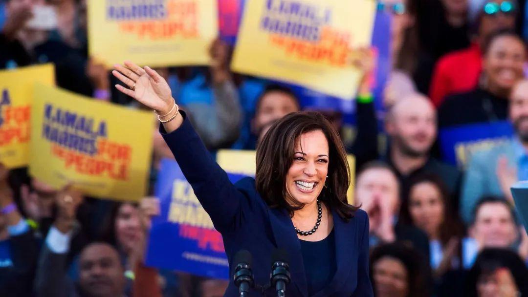宣布参加2020美国大选的哈里斯野心勃勃。