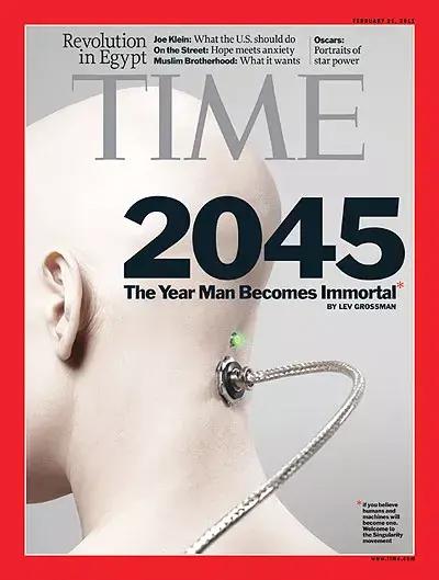 熬到2045年,人类可能靠人工智能战胜死亡了