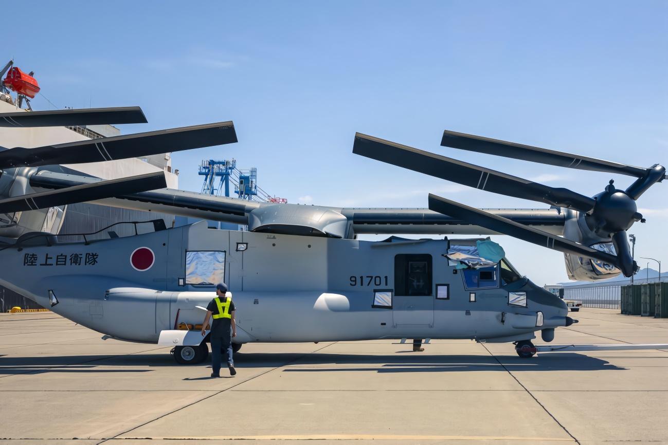 """日本为驻日美军新建""""鱼鹰""""维修机库?未来自己也能用上"""
