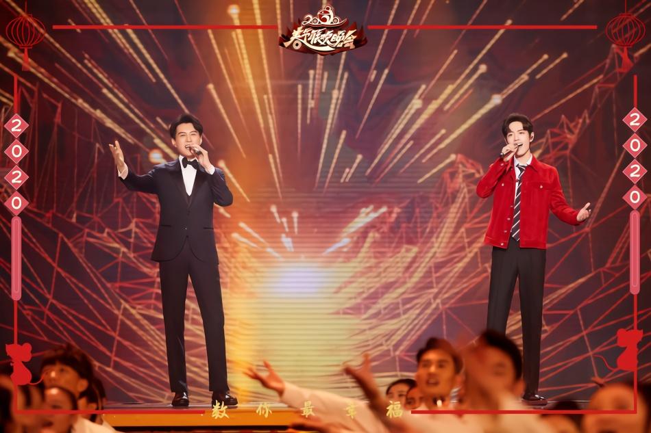 肖战靳东北京卫视春晚合体献唱 两大男神首度合作引期待