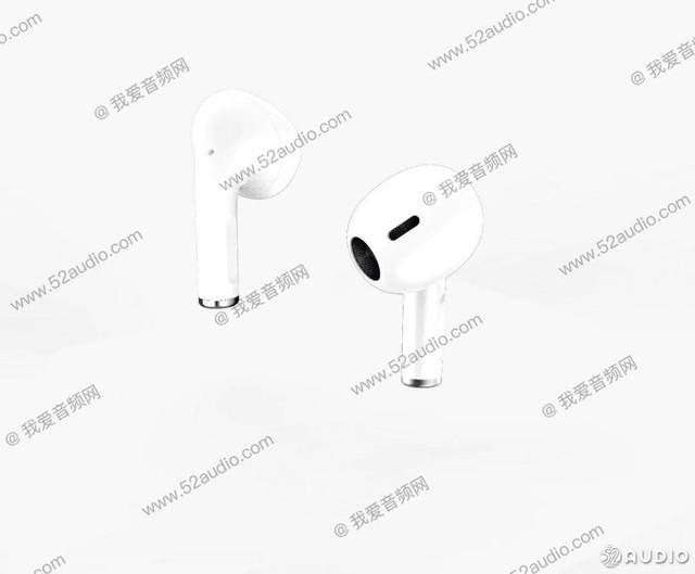 新一代AirPods实体照流出!造型更圆润、握柄缩短了