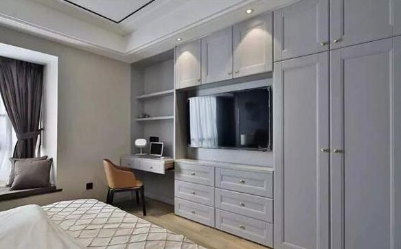 衣柜这样做,让你的卧室面积大一半