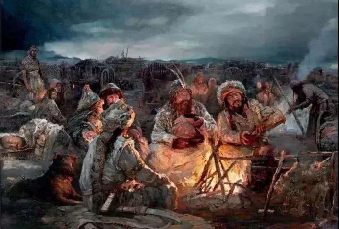 自武帝的漠北决战后,匈奴内部便产生了一定的分裂,而宣帝时期的西域之战更是给匈奴以重创。匈奴的衰落分裂在汉帝国的打击下,势成必然。最终经历了五位单于并立相争,呼韩邪单于率部归附汉帝国,漠南漠北匈奴彻底分裂。漠南匈奴用和平的方式逐步突破长城的封锁,并最终突破华夷界限与华夏融为一体。漠北匈奴在南匈奴与汉帝国的联合打击下,不得已西迁,引发了亚欧游牧带上其他民族的历史变迁。