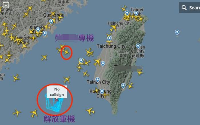 """【google关键词】_台媒宣称蔡英文专机返回途中,解放军军机""""恰巧""""出现在附近"""