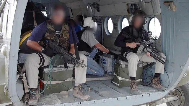 在伊拉克活动的中情局SOG行动人员