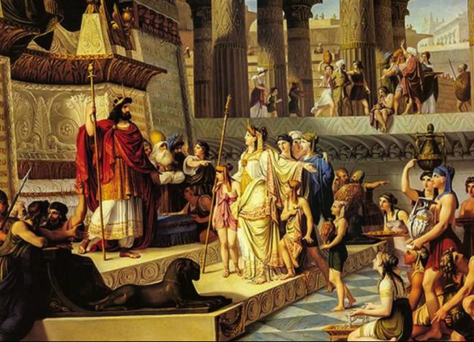 """以色列的""""部落国家""""时代:君主与祭祀共治"""