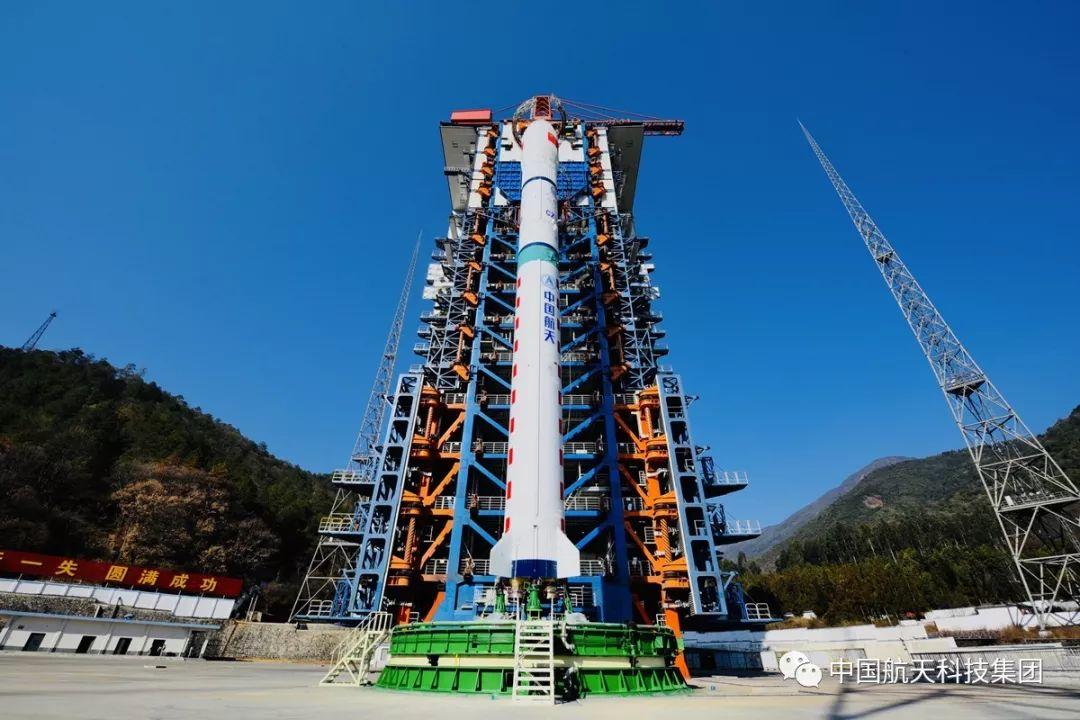 一箭四星 中国成功发射4颗新技术试验卫星插图2