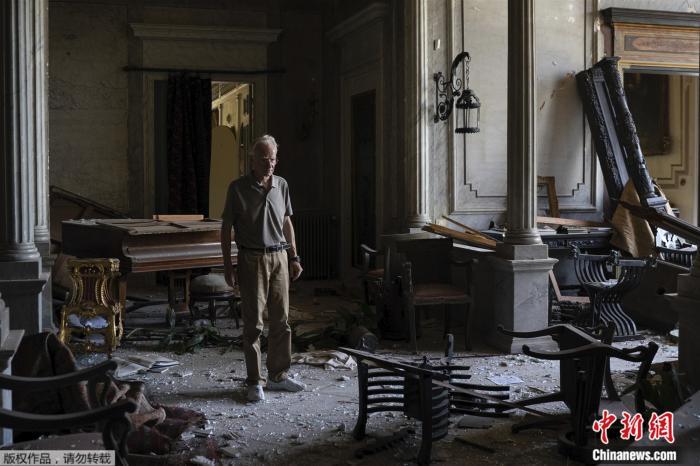 【百度排名点击】_精美文物化为废墟 黎巴嫩160年历史宫殿在爆炸中受损