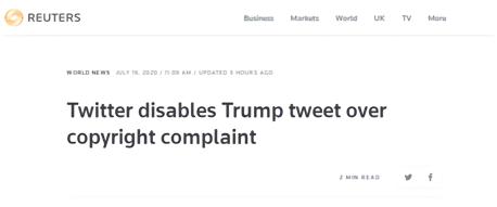 【如何快速收录】_破案了:特朗普推特上的视频是这么没的…