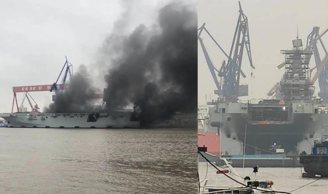 国产两栖攻击舰开始主机试车 出海试航指日可待
