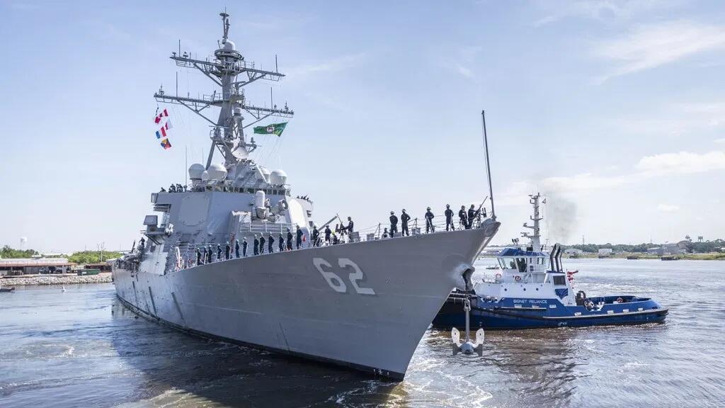 发生撞船事故三年后 这艘美军神盾驱逐舰终于返回舰队