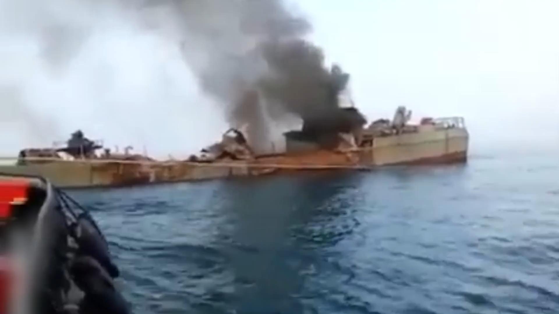 """这导弹太""""准""""!伊朗版C-802重创伊朗战舰"""