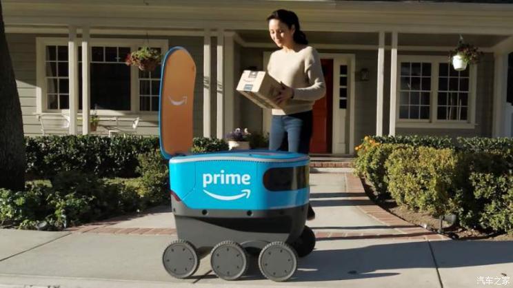 无人驾驶车来了,亚马逊为配送服务开发