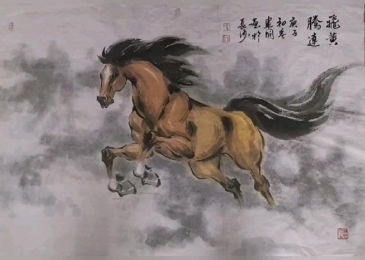 画家刘建国,现为当代画马艺术研究院画马艺术委员会委员;长春美术家协会会员。