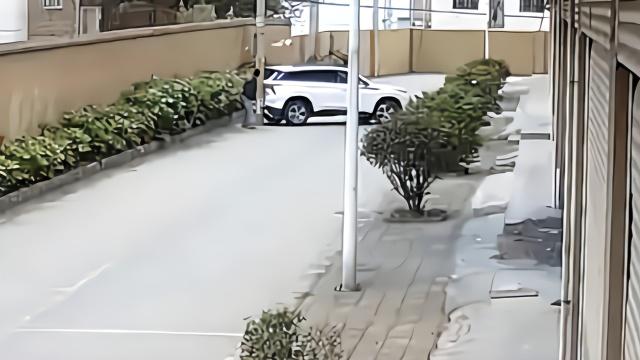 男子为骗保驾车撞电杆17分钟,同事帮指挥同被拘