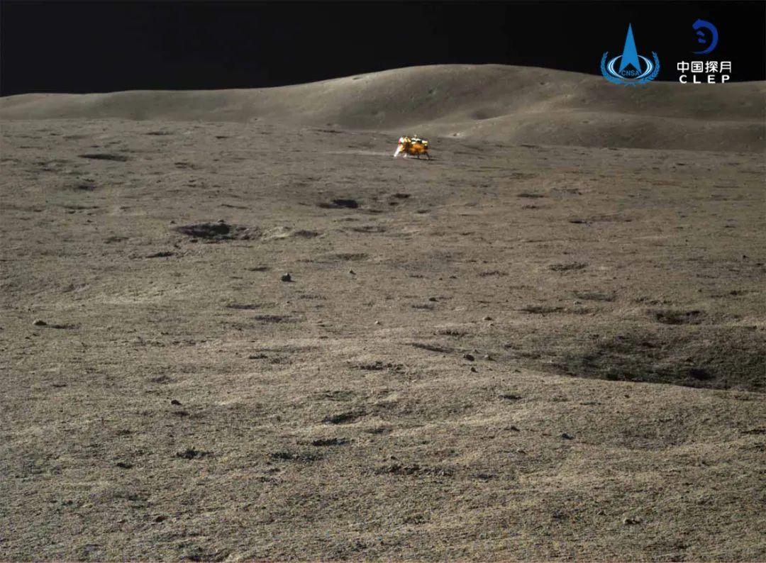 """500天啦!嫦娥四号着陆器和""""玉兔二号""""月球车自主唤醒"""