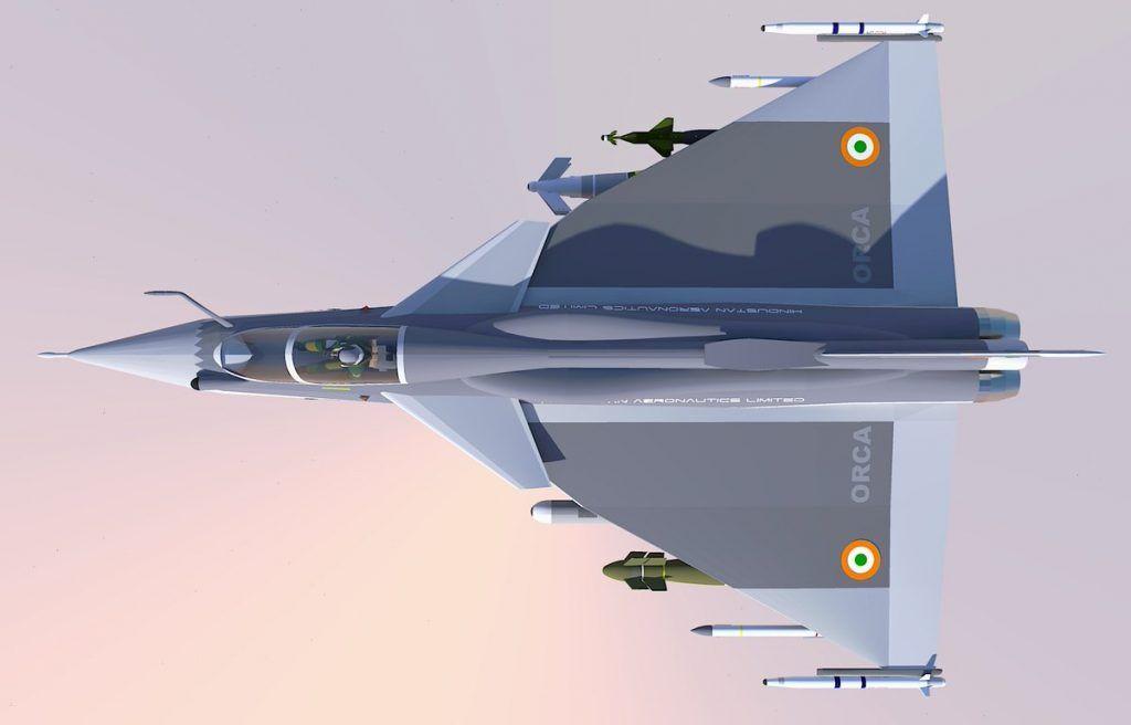 """从""""光辉""""战斗机衍生而来的双发舰载战斗机"""