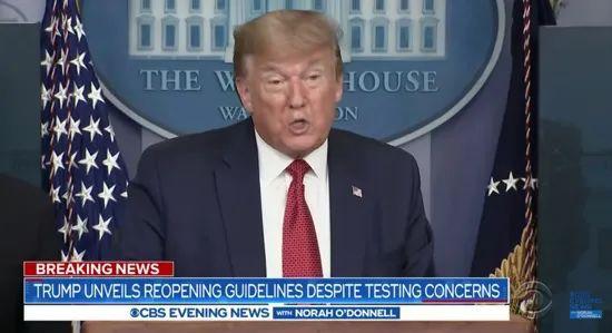 """耶鲁专家:特朗普""""重启美国""""大概率出现第二波疫情"""