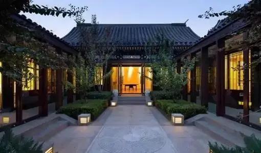 北京四合院,传统家庭居住文化