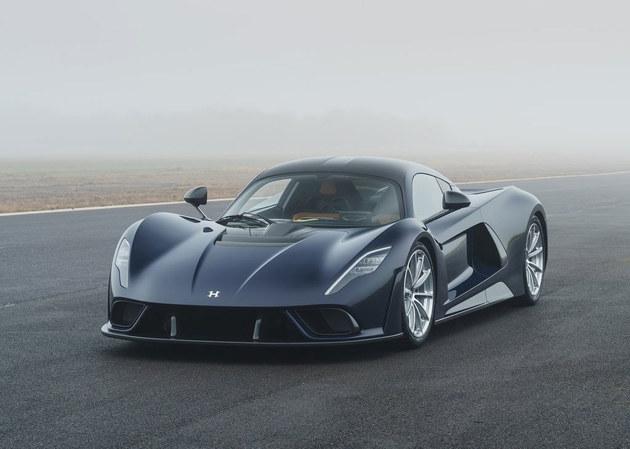 轩尼诗Venom F5官图发布 售价折人民币1373万元